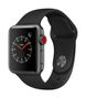 APPLE AW Series 3 GPS Cell 38mm Sp Grey Alu Black Sport Band