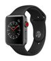APPLE AW Series 3 GPS Cell 42mm Sp Grey Alu Black Sport Band