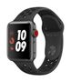 APPLE AW Nike+ Series 3 GPS Cell 38mm Sp Grey Alu Black Nike Sport