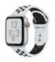 APPLE AW Nike+ Series 4 GPS Cell 40mm Silver Alu Black Nike Sport