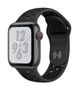 APPLE AW Nike+ Series 4 GPS Cell 40mm Sp Grey Alu Black Nike Sport