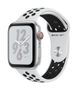APPLE AW Nike+ Series 4 GPS Cell 44mm Silver Alu Black Nike Sport