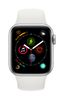 APPLE AW Series4 GPS Cell 40mm Silver Alu White Sport Band (MTVA2DH/A)