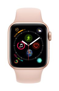 APPLE AW Series 4 GPS Cell 40mm Gold Alu Pink Sand Sport Band (MTVG2DH/A)