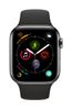 APPLE EOL AW Series 4 GPS Cell 44mm Black Stainl St. Black Sport B (MTX22DH/A)