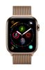 APPLE AW Series4 GPS Cell 44mm Gold Stainl St. Gold Milanese Loop (MTX52DH/A)