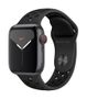 APPLE AW Nike Series 5 GPS Cell, 40mm Sp Gray Alu Case Ant/Black