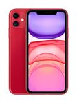 APPLE iPhone 11 - 128GB (PRODUCT)RED (with charger & earpods)