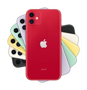 APPLE iPhone 11 - 64GB (PRODUCT)RED (MWLV2QN/A)