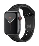 APPLE AW Nike Series 5 GPS Cell, 44mm Sp Grey Alu Case Ant/Black
