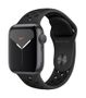 APPLE AW Nike Series 5 GPS, 40mm Sp Grey Alu Case Ant/Black