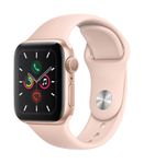 APPLE AW Series 5 GPS 40mm Gold Alu Case Pink Sand Sport Band