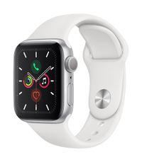 APPLE AW Series 5 GPS 40mm Silver Alu Case White Sport Band