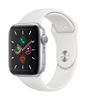 APPLE AW Series 5 GPS 44mm Silver Alu Case White Sport Band (MWVD2DH/A)