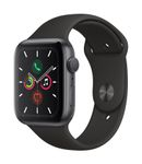 APPLE AW Series 5 GPS 44mm Sp Grey Alu Case Black Sport Band