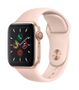 APPLE AW Series 5 GPS Cell 40mm Gold Alu Case Pink Sand Sport Band
