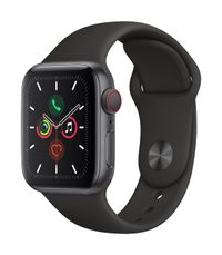 APPLE AW Series 5 GPS Cell 40mm Sp Grey Alu Case Black Sport Band