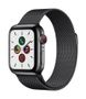 APPLE AW Series 5 GPS Cell 40mm Sp Black St Steel Case Black Milan