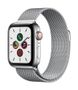 APPLE AW Series 5 GPS Cell 40mm St Steel Case St Steel Milanese