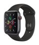 APPLE AW Series 5 GPS Cell 44mm Sp Grey Alu Case Black Sport Band
