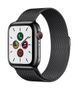 APPLE AW Series 5 GPS Cell 44mm Sp Black St Steel Case Bl. Milan.