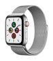 APPLE AW Series 5 GPS Cell 44mm St Steel Case St Steel Milanese