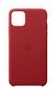 APPLE iPhone 11 Pro Max Leather Case - (PRODUCT)RED