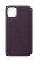 APPLE iPhone 11 Pro Max Leather Folio - Aubergine