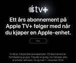 Få ett års abonnement på Apple TV+