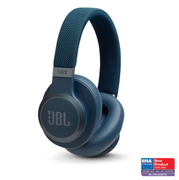 JBL JBL Live 650 Bluetooth Noise Cancelling Over-Ear Blue
