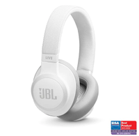 JBL JBL Live 650 Bluetooth Noise Cancelling Over-Ear White