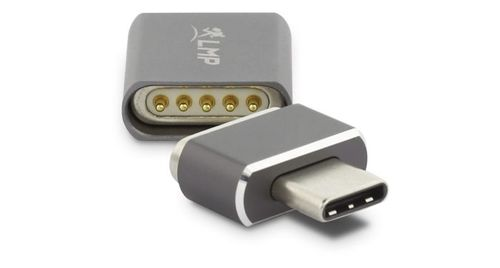 LMP LMP USB-C (f) to USB-C (m) Magnetic Safety Adapter SpaceGray (17219)