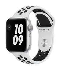 APPLE AW Nike Series 6 GPS 40mm Sil Alu Case Ant Plat Bl Sport
