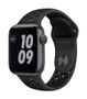APPLE AW Nike Series 6 GPS 40mm Sp Gray Alu Case Ant Bl Sport