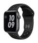 APPLE AW Nike SE GPS 40mm Sp Gray Alu Case Ant Bl Sport
