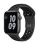 APPLE AW Nike SE GPS 44mm Sp Gray Alu Case Ant Bl Sport
