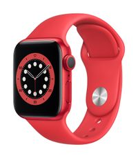APPLE AW Series 6 GPS 40mm (RED) Alu Case (RED) Sport Band