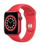 APPLE AW Series 6 GPS 44mm (RED) Alu Case (RED) Sport Band