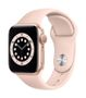 APPLE AW Series 6 GPS 40mm Gold Alu Case Pink Sand Sport Band