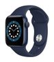 APPLE AW Series 6 GPS 40mm Blue Alu Case Deep Navy Sport Band