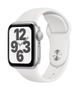 APPLE AW SE GPS 40mm Silver Alu Case White Sport Band