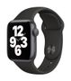 APPLE AW SE GPS 40mm Space Gray Alu Case Black Sport Band