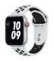 APPLE AW Nike Series 6 GPS Cell 40mm Sil Alu Case Plat Bl Sport