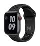 APPLE AW Nike Series 6 GPS Cell 40mm Sp Gray Alu Case Ant Bl Sport