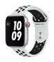 APPLE AW Nike Series 6 GPS Cell 44mm Sil Alu Case Ant Plat Bl Spor