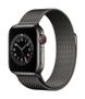 APPLE AW Series 6 GPS Cell 40mm Graphite St Steel Case Gr Milanese