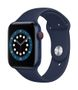 APPLE AW Series 6 GPS Cell 44mm Blue Alu Case Deep Navy Sport Band