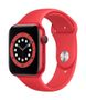 APPLE AW Series 6 GPS Cell 44mm (RED) Alu Case (RED) Sport Band