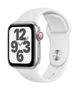 APPLE AW SE GPS Cell 40mm Silver Alu Case White Sport Band