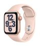 APPLE AW SE GPS Cell 40mm Gold Alu Case Pink Sand Sport Band